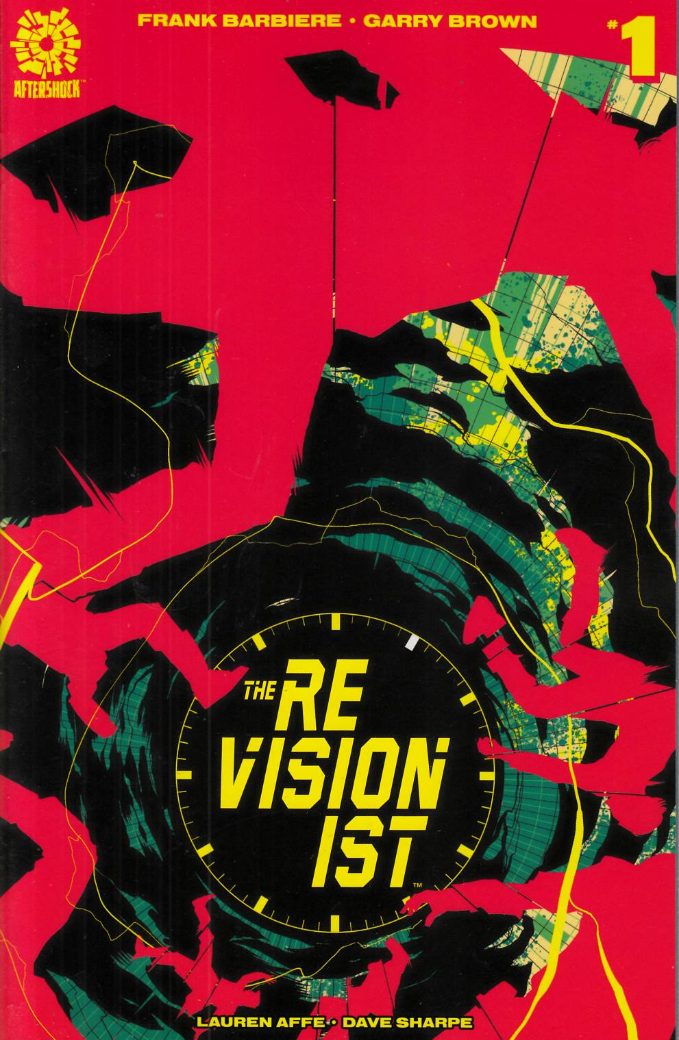 Revisionist #1 Matt Tyler Incentive Cover [Aftershock Comic] THUMBNAIL