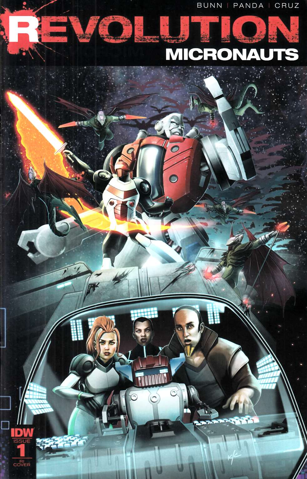 Micronauts Revolution #1 Cover RI [IDW Comic]