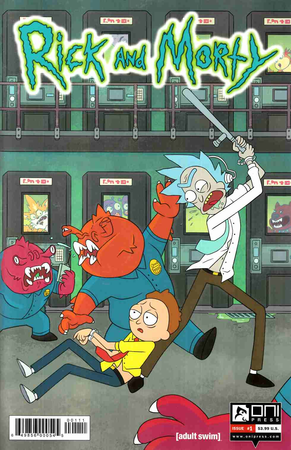 Rick & Morty #1 [Oni Press Comic]