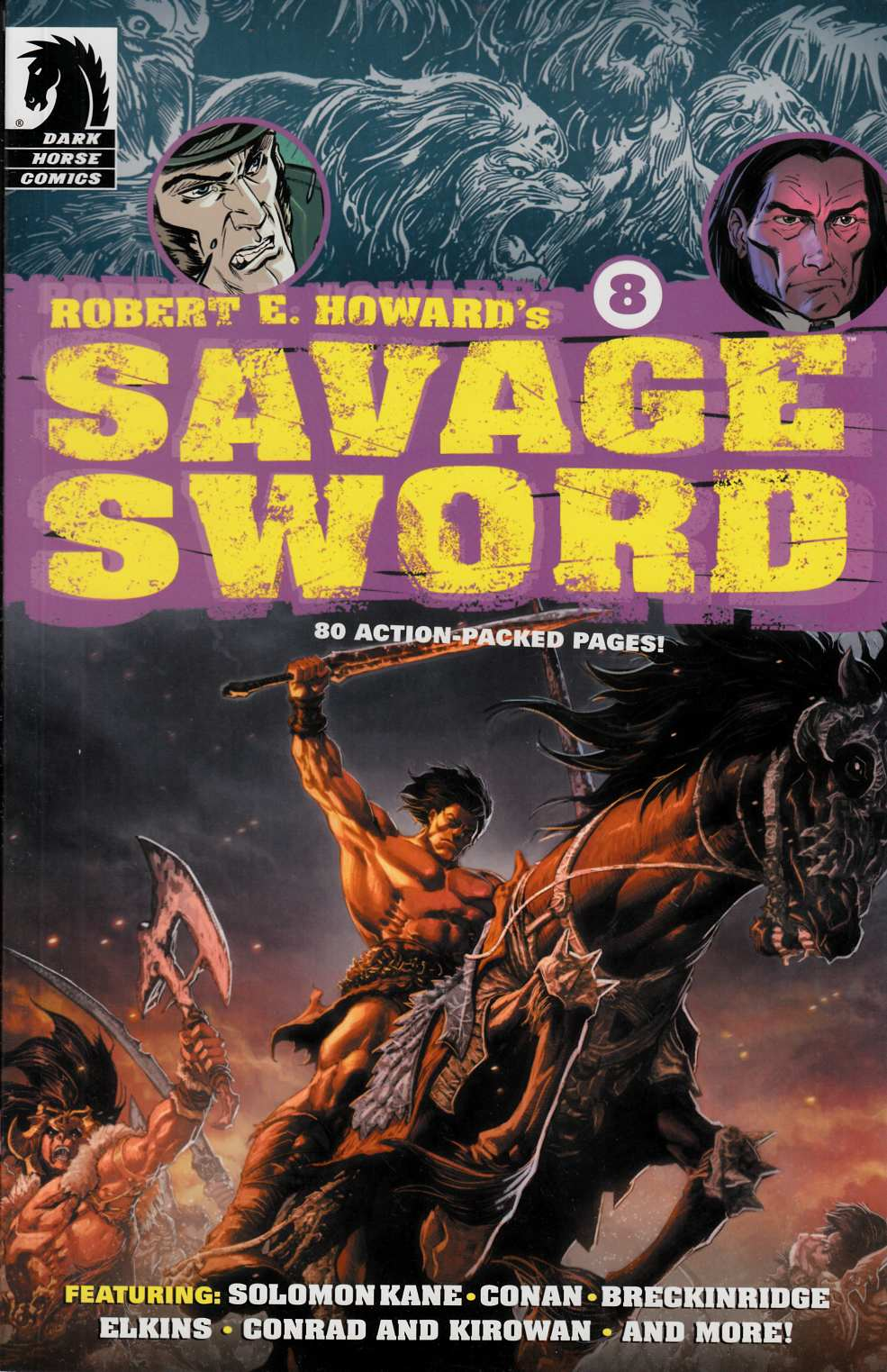 Robert E Howards Savage Sword #8 [Comic] THUMBNAIL