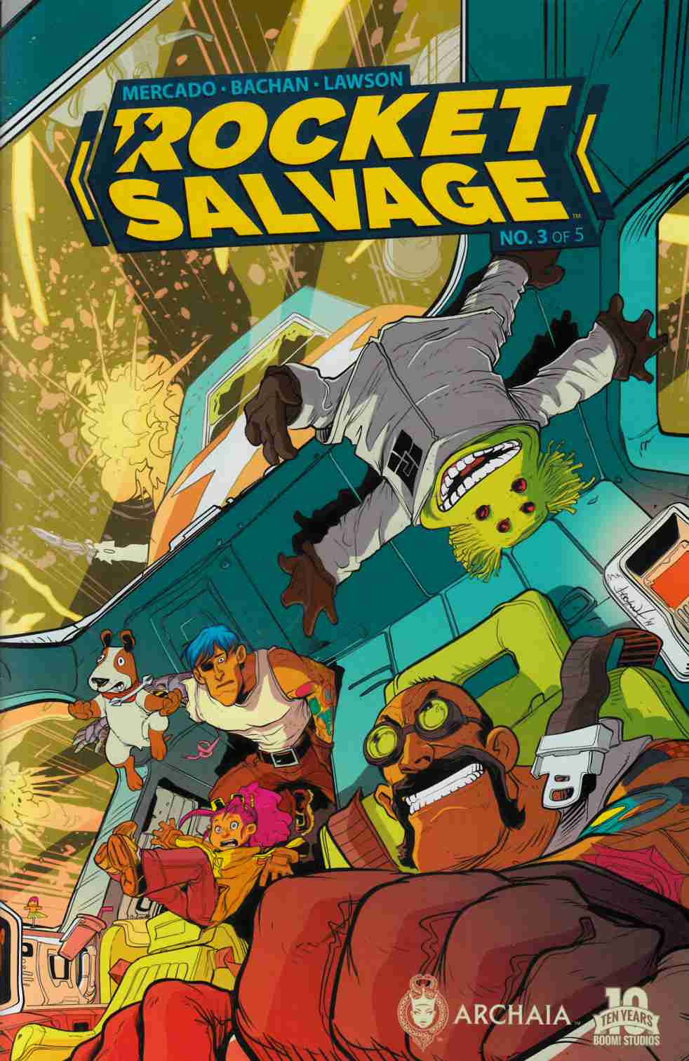 Rocket Salvage #2 [Boom Comic] THUMBNAIL