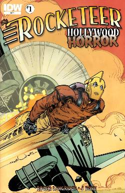 Rocketeer Hollywood Horror #1 [Comic] LARGE