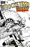 Rocketeer Hollywood Horror #1 Cover RI- Simsonson Sketch [Comic]