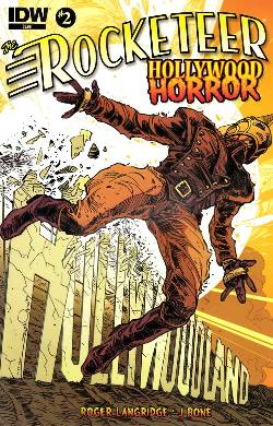 Rocketeer Hollywood Horror #2 [Comic] LARGE