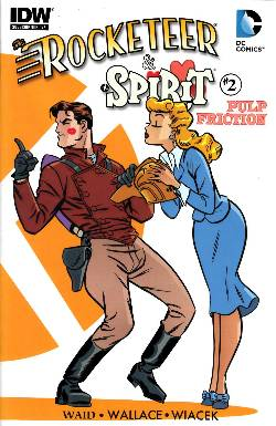 Rocketeer Spirit Pulp Friction #2 Subscription Cover [Comic] LARGE