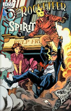 Rocketeer Spirit Pulp Friction #4 Subscription Variant Cover [Comic] LARGE