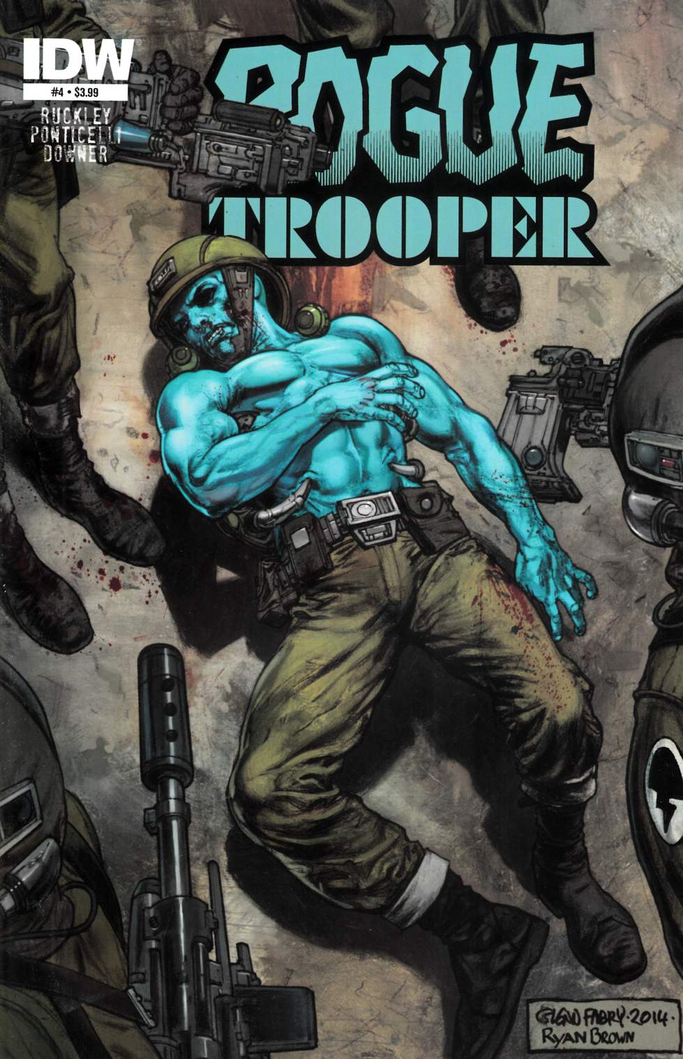 Rogue Trooper #4 [Comic] LARGE