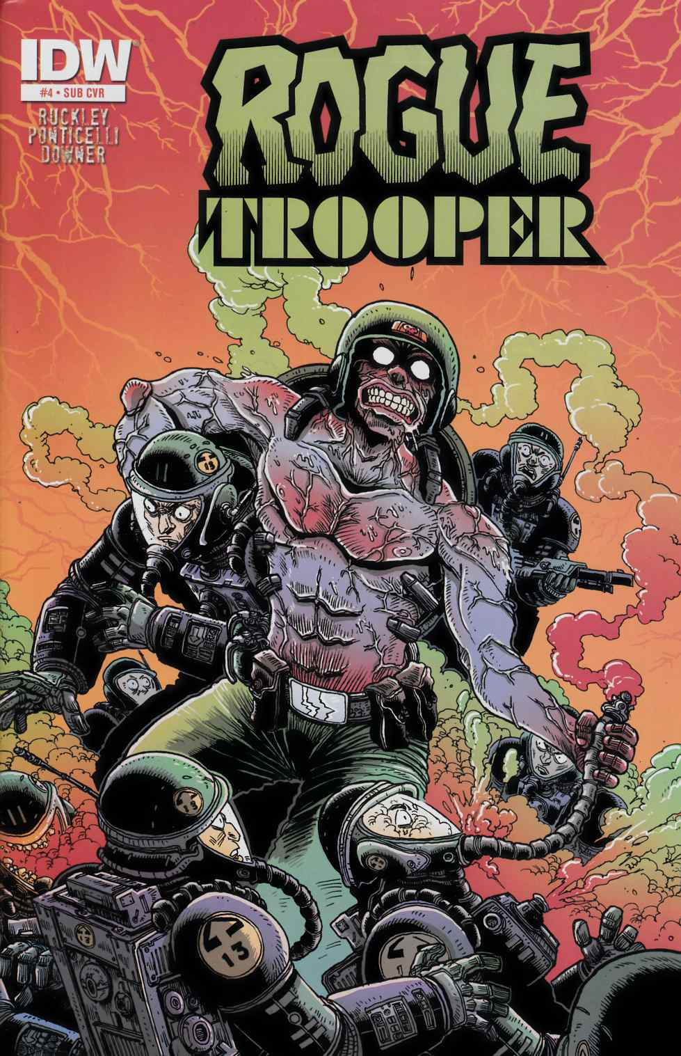 Rogue Trooper #4 Subscription Cover [Comic] THUMBNAIL