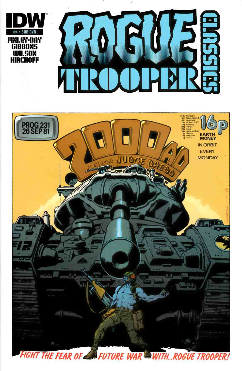 Rogue Trooper Classics #4 Subscription Cover [Comic]