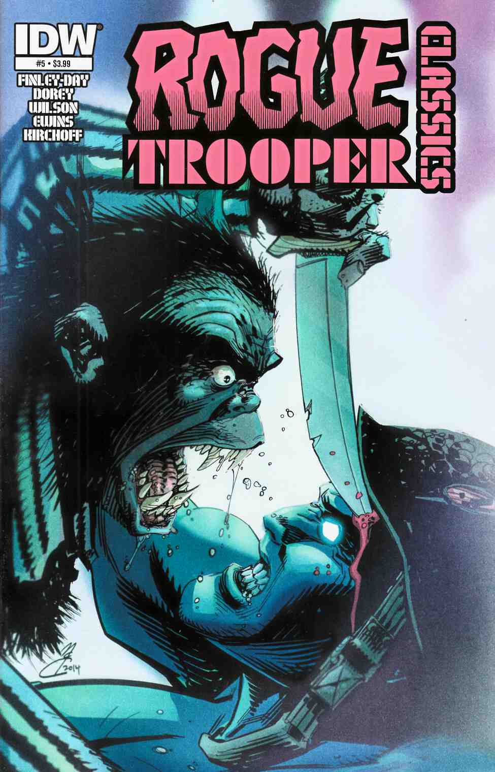 Rogue Trooper Classics #5 [Comic]