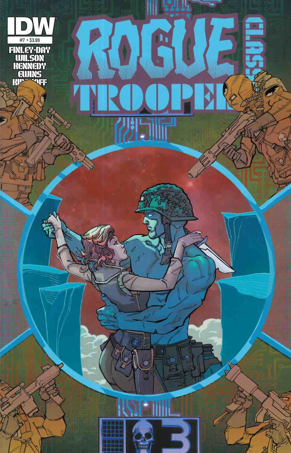 Rogue Trooper Classics #7 [IDW Comic]