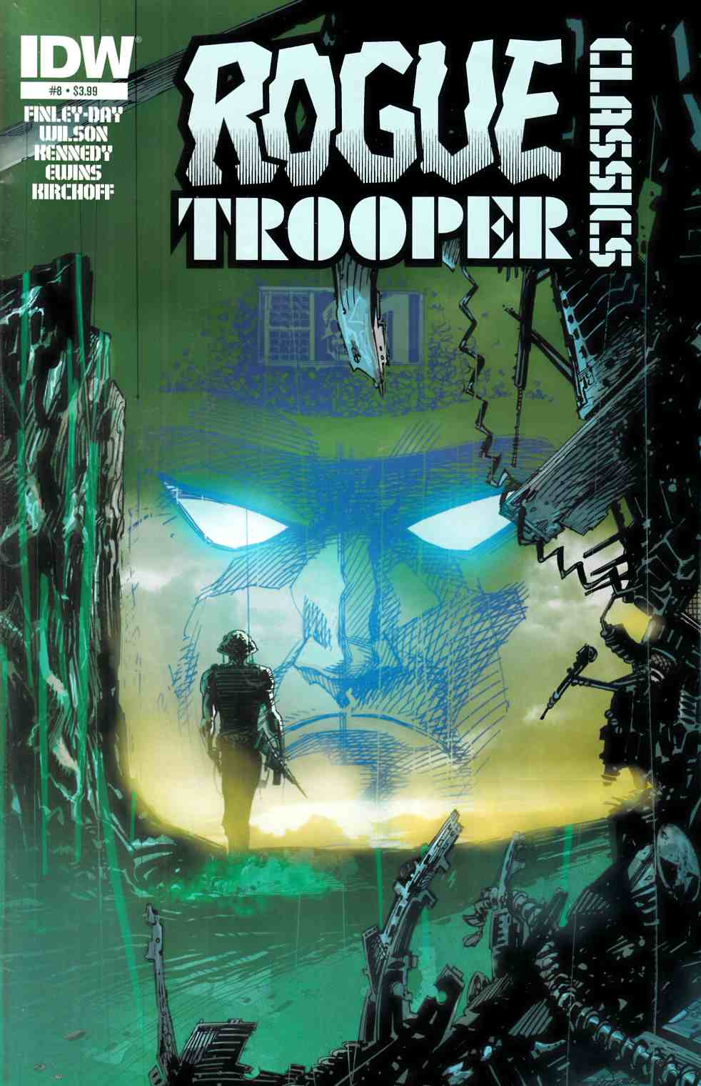 Rogue Trooper Classics #8 [IDW Comic]