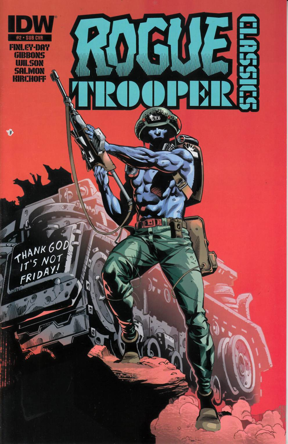 Rogue Trooper Classics #2 Subscription Cover [Comic]