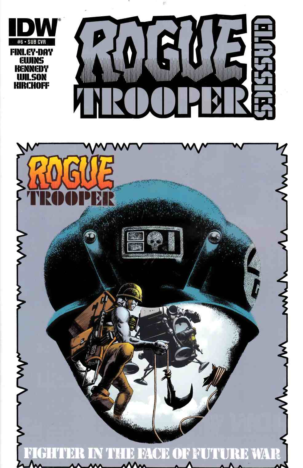 Rogue Trooper Classics #6 Subscription Cover [Comic] THUMBNAIL