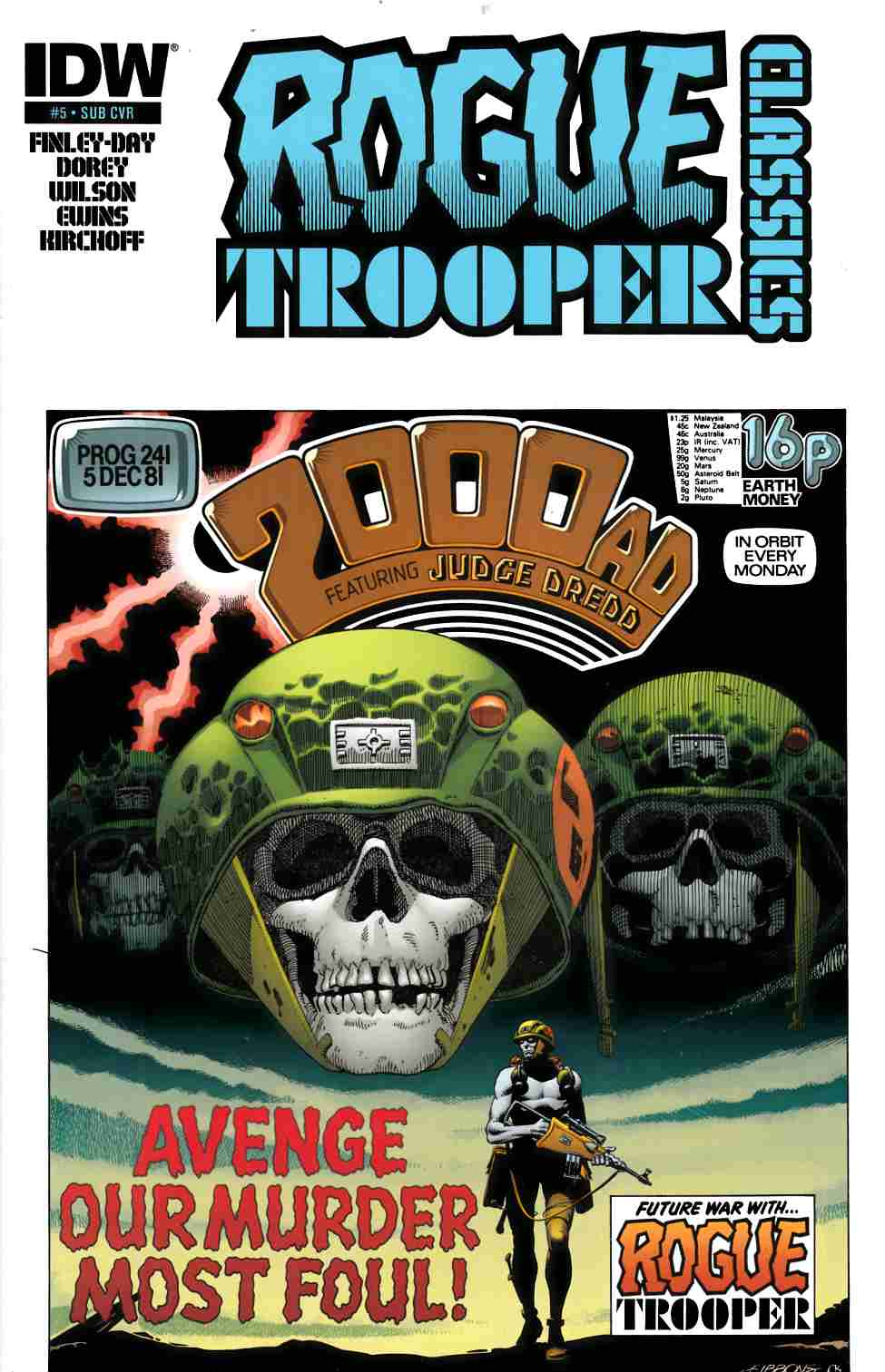 Rogue Trooper Classics #5 Subscription Cover [Comic] THUMBNAIL