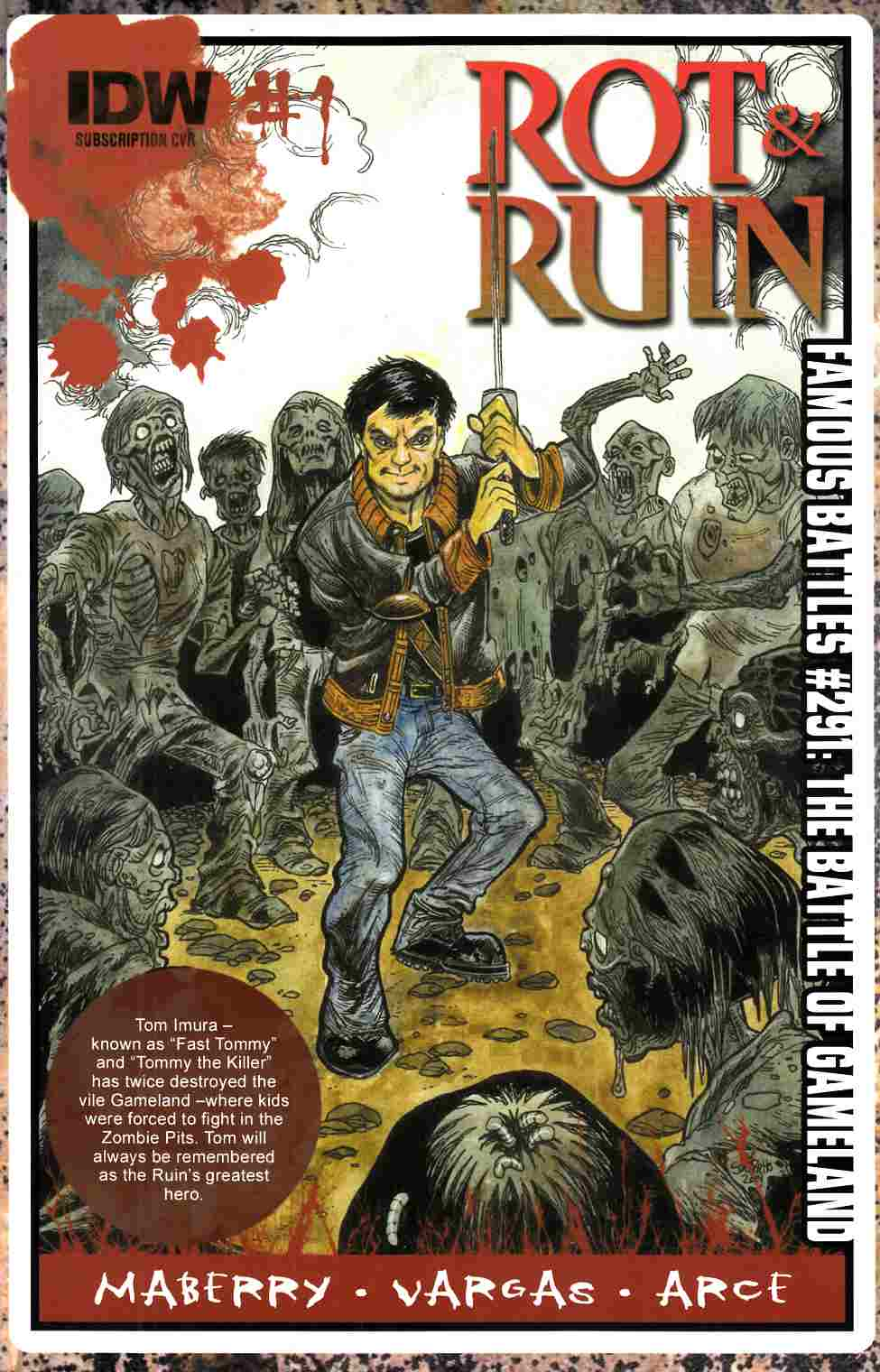 Rot & Ruin #1 Subscription Cover [Comic] THUMBNAIL