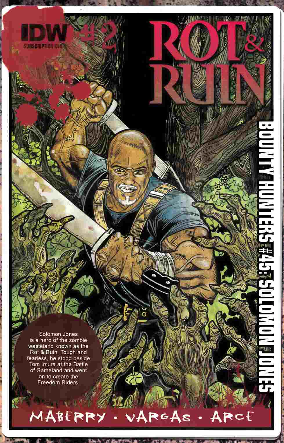 Rot & Ruin #2 Subscription Cover [IDW Comic] LARGE