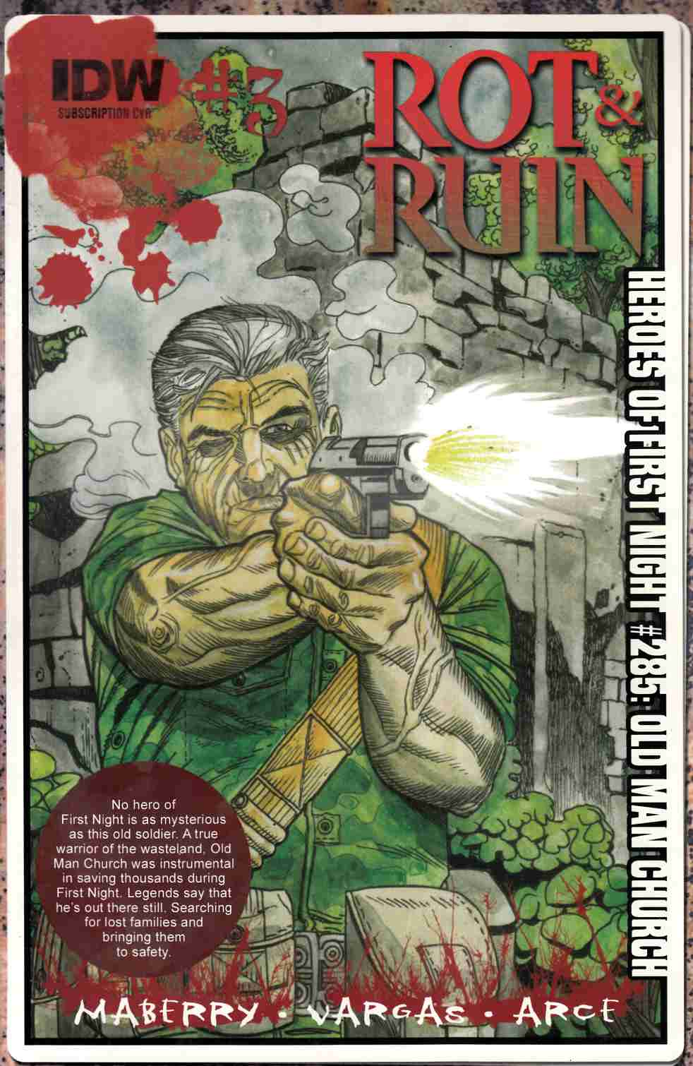 Rot & Ruin #3 Subscription Cover [IDW Comic] LARGE
