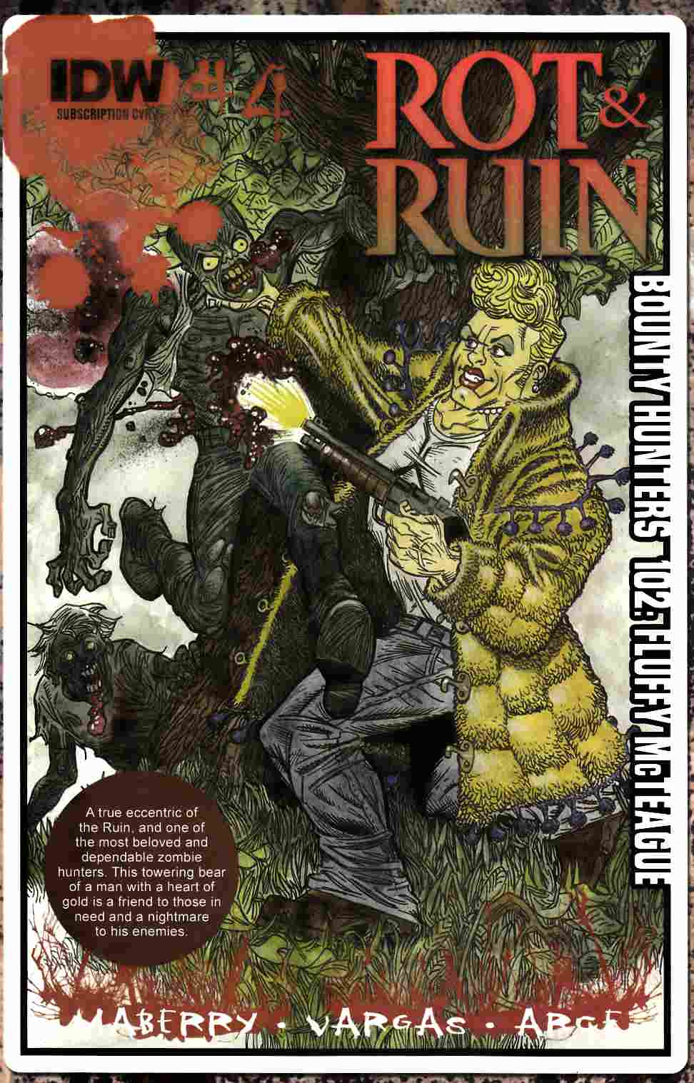 Rot & Ruin #4 Subscription Cover [IDW Comic] THUMBNAIL