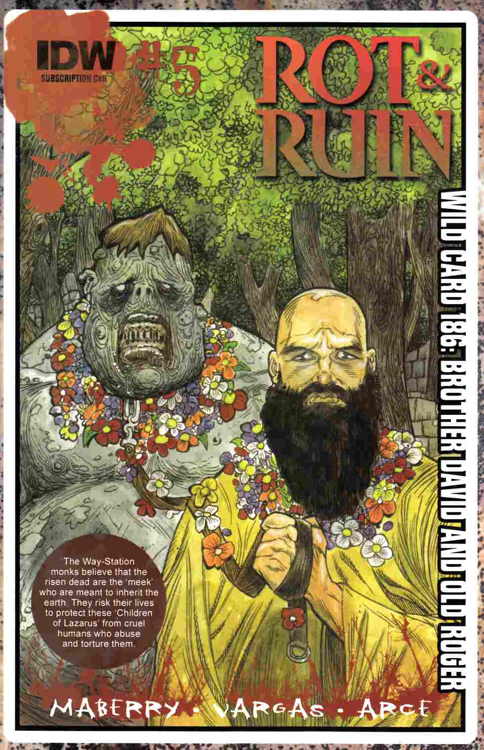 Rot & Ruin #5 Subscription Cover [IDW Comic] THUMBNAIL