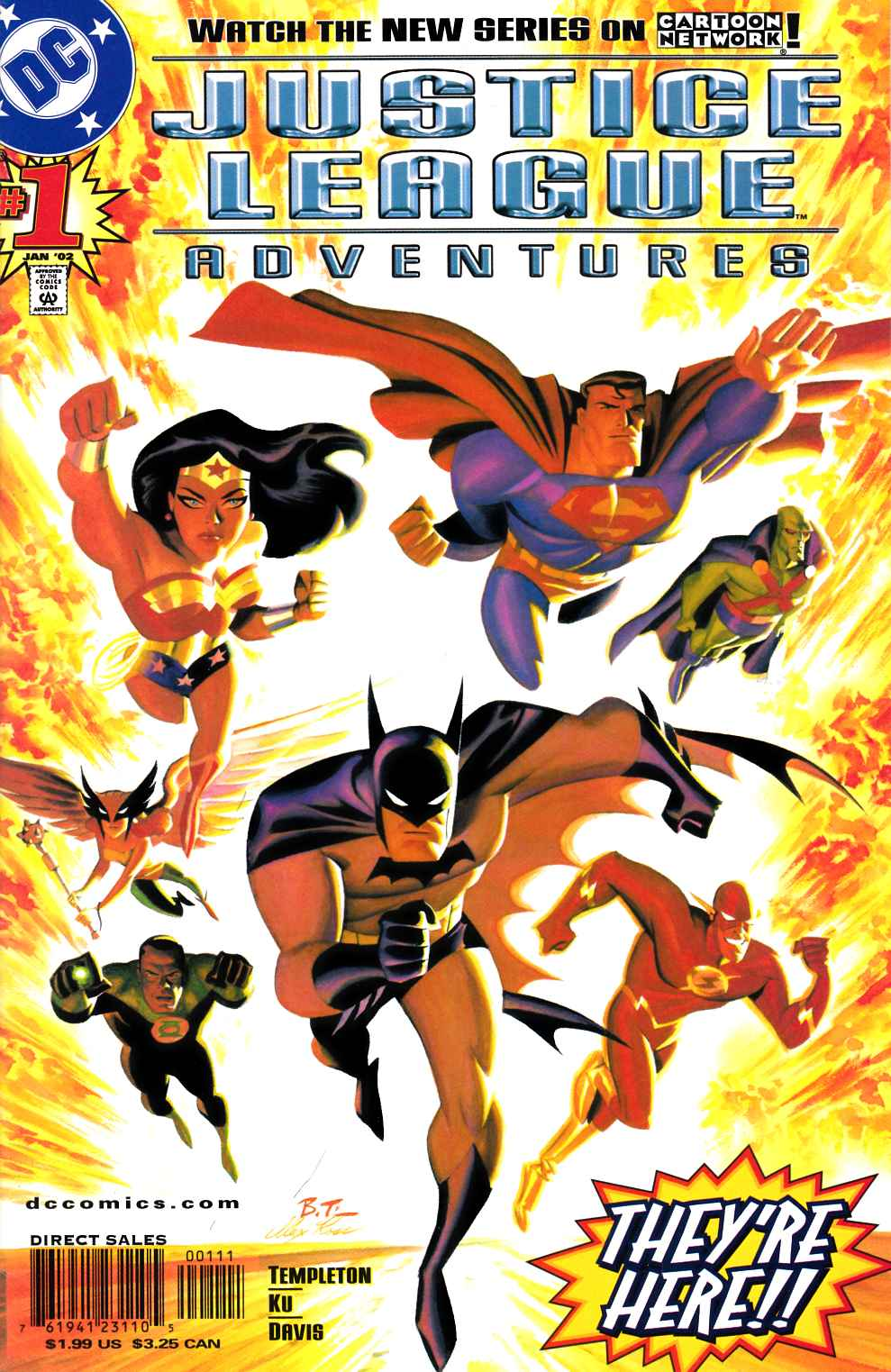 Justice League Adventures #1 [DC Comic] THUMBNAIL
