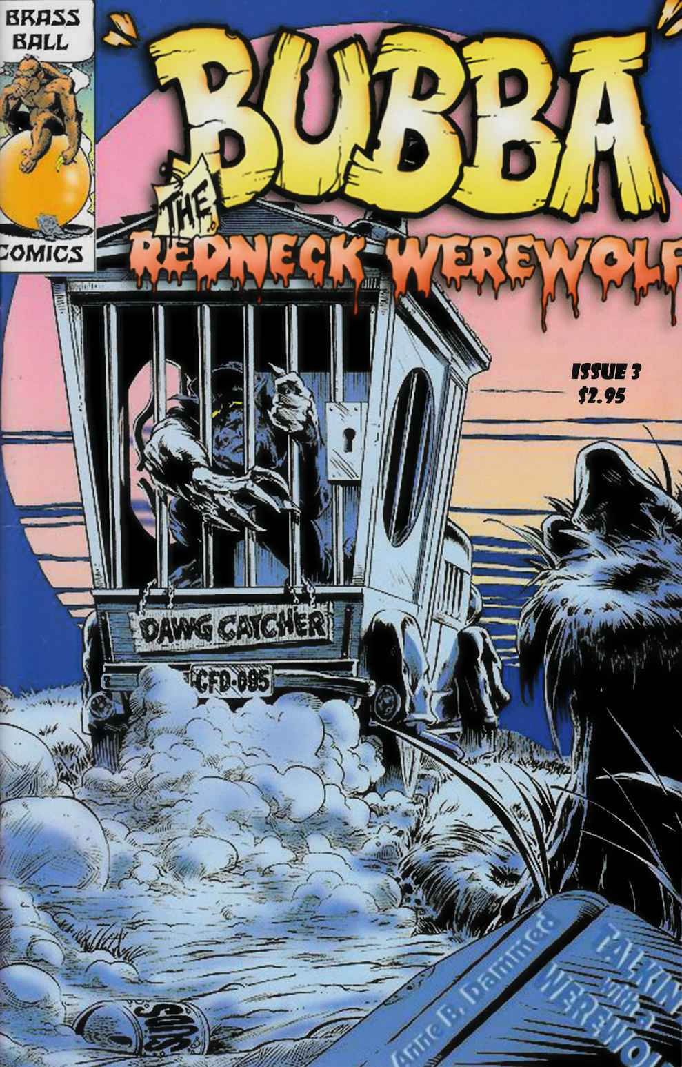 Bubba the Redneck Werewolf #3 [Brass Ball Comic] THUMBNAIL