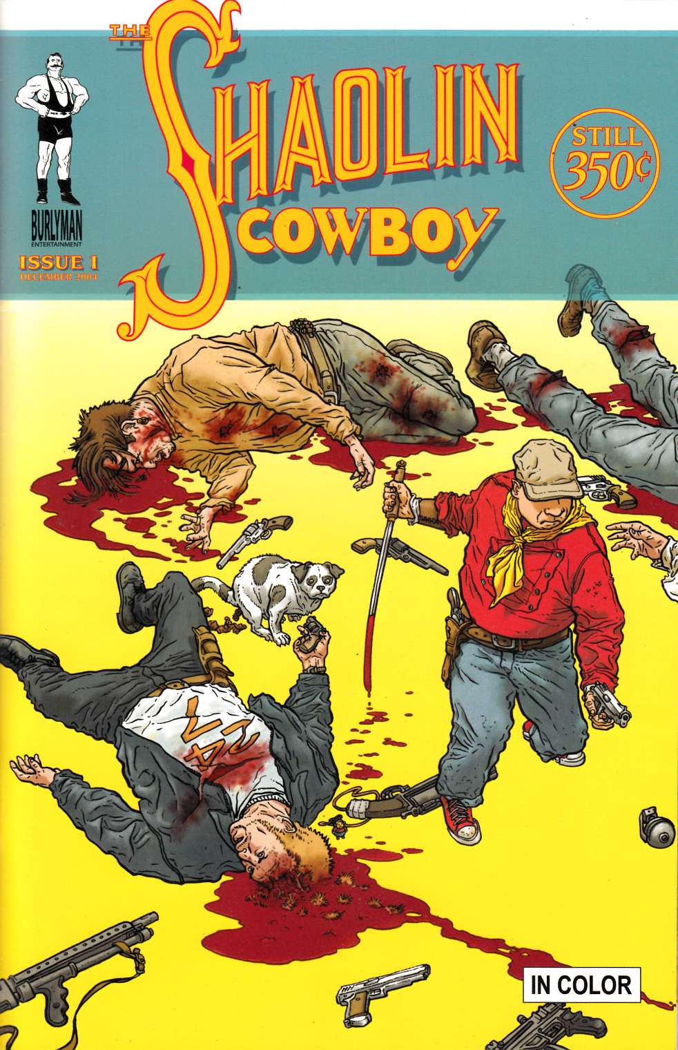 Shaolin Cowboy #1 Second Printing Very Fine Plus (8.5) [Burlyman Comic] THUMBNAIL