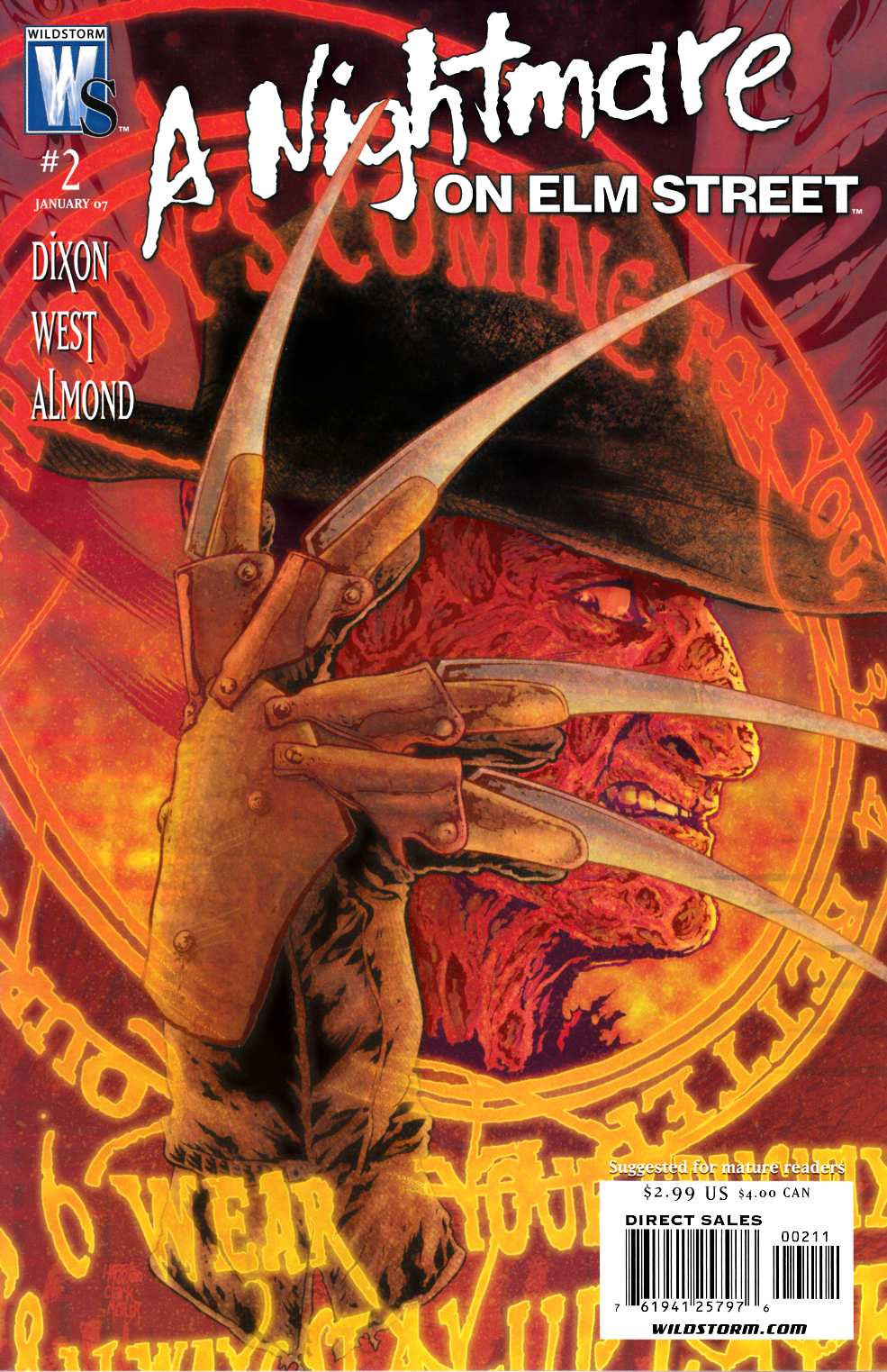 Nightmare on Elm Street #2 Near Mint (9.4) [DC Comic] THUMBNAIL