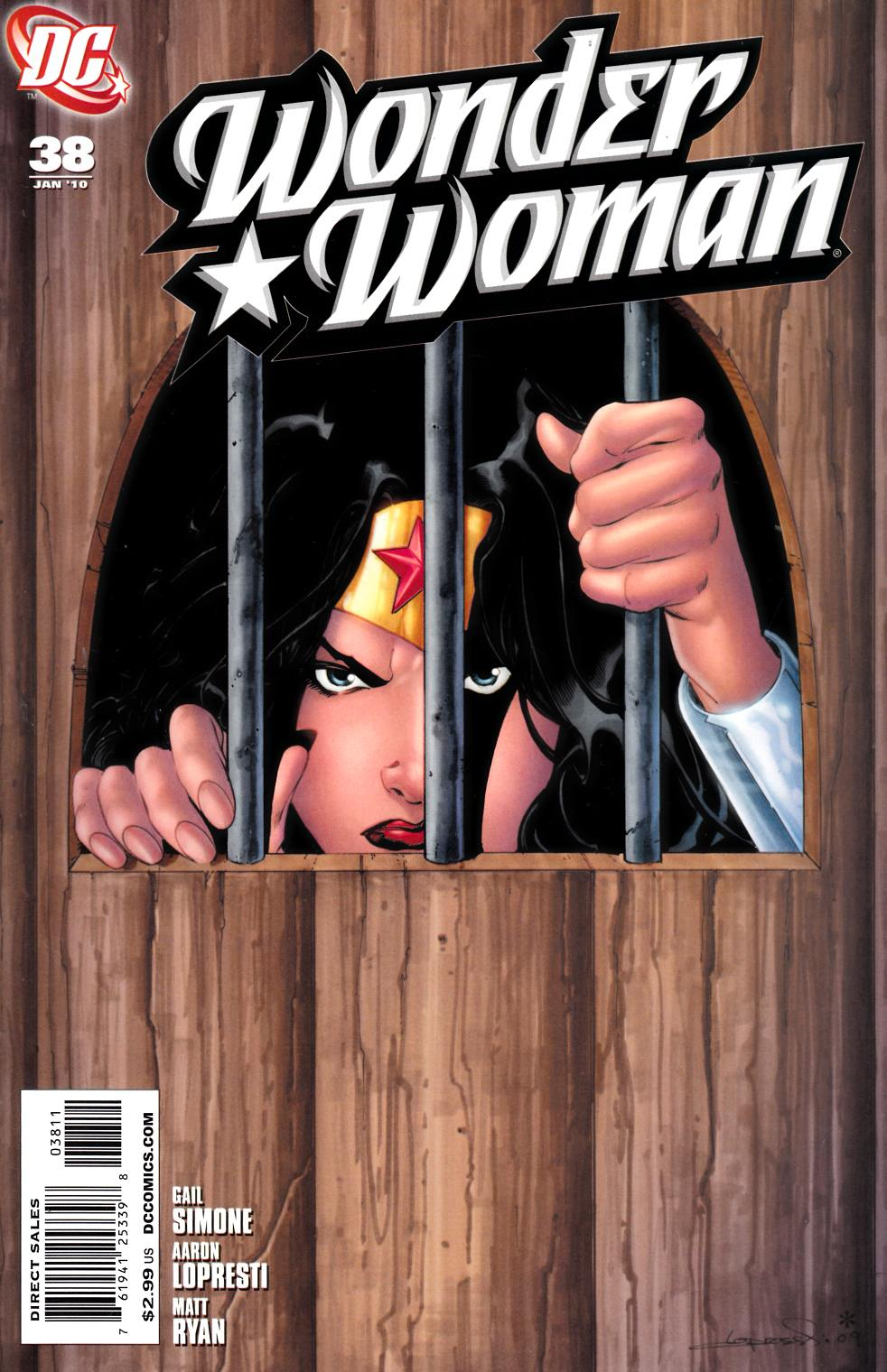 Wonder Woman #38 Near Mint (9.4) [DC Comic] THUMBNAIL