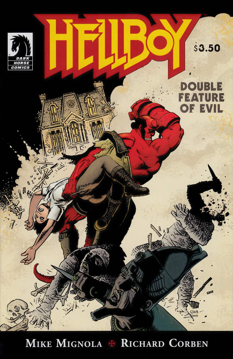 Hellboy Double Feature of Evil (One Shot) Near Mint (9.4) [Dark Horse Comic] THUMBNAIL