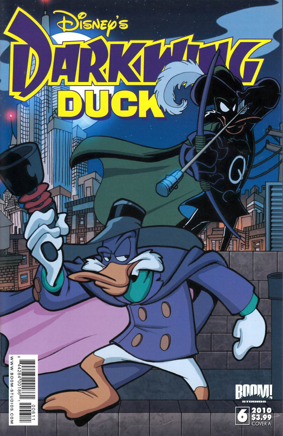 Darkwing Duck #6 Cover A Near Mint (9.4) [Boom Comic]_THUMBNAIL