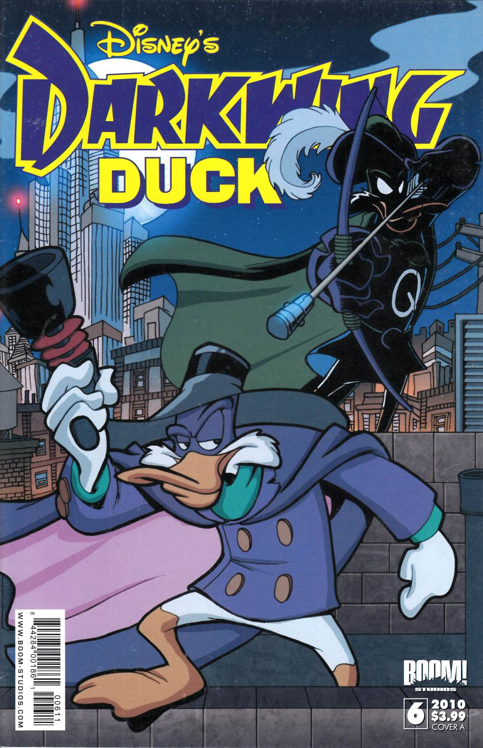 Darkwing Duck #6 Cover A Very Fine (8.0) [Boom Comic]_THUMBNAIL