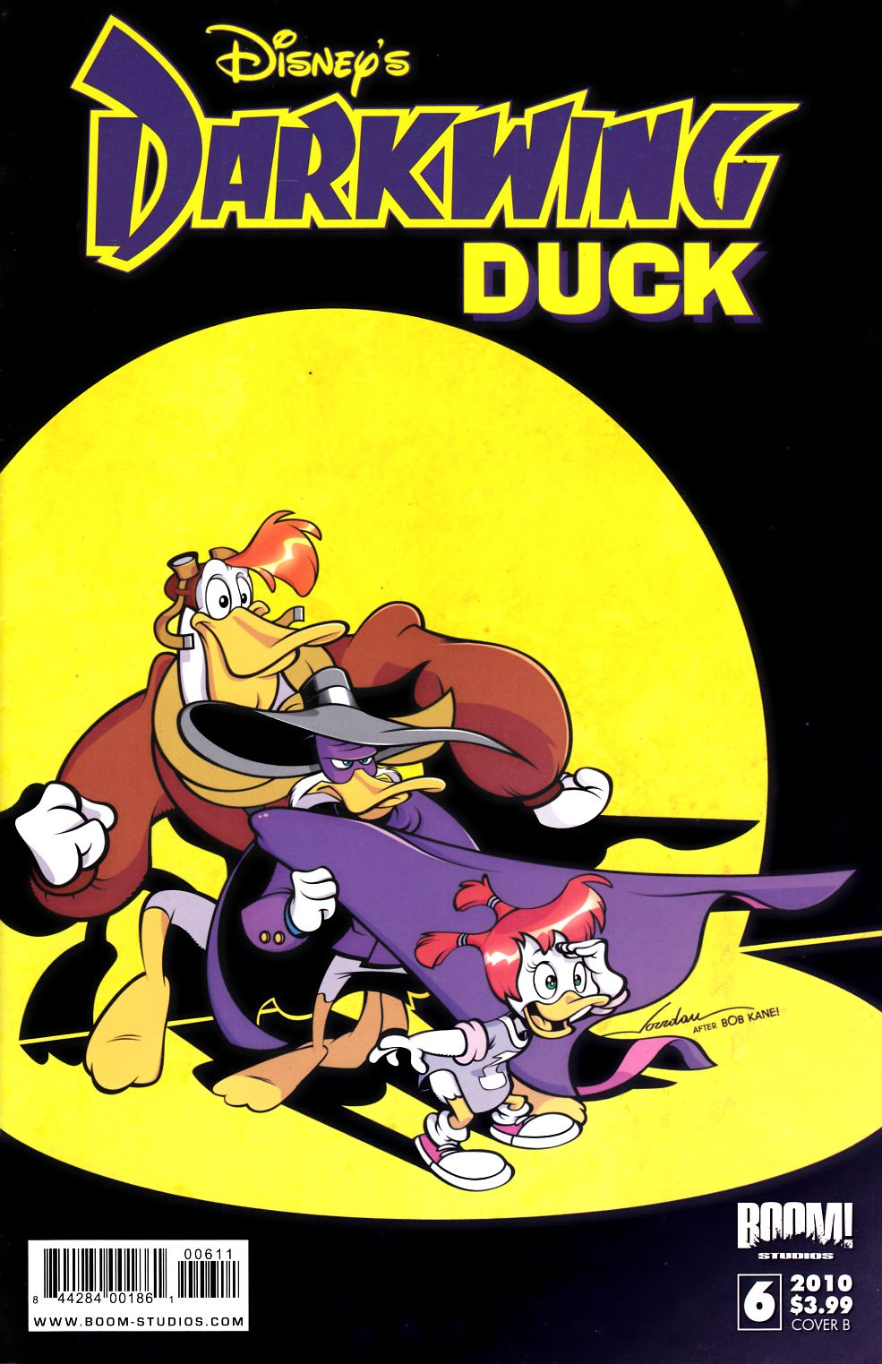 Darkwing Duck #6 Cover B Near Mint Minus (9.2) [Boom Comic] THUMBNAIL