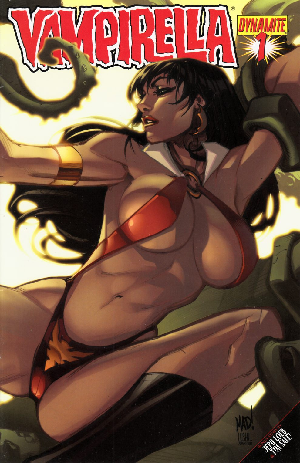 Vampirella #1 Madureira Cover Very Fine (8.0) [Dynamite Comic] THUMBNAIL