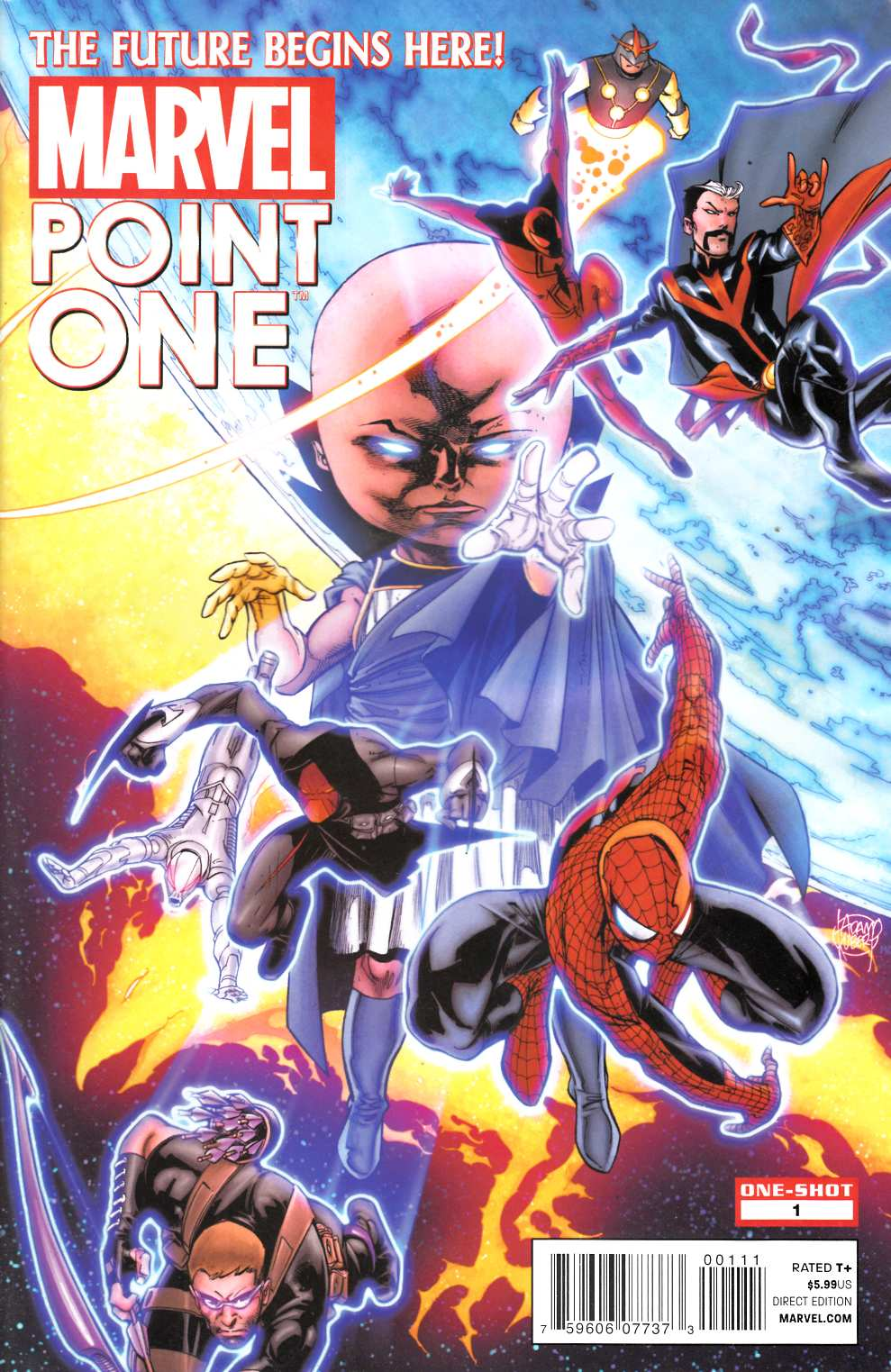Point One #1 Good (2.0) [Marvel Comic] LARGE