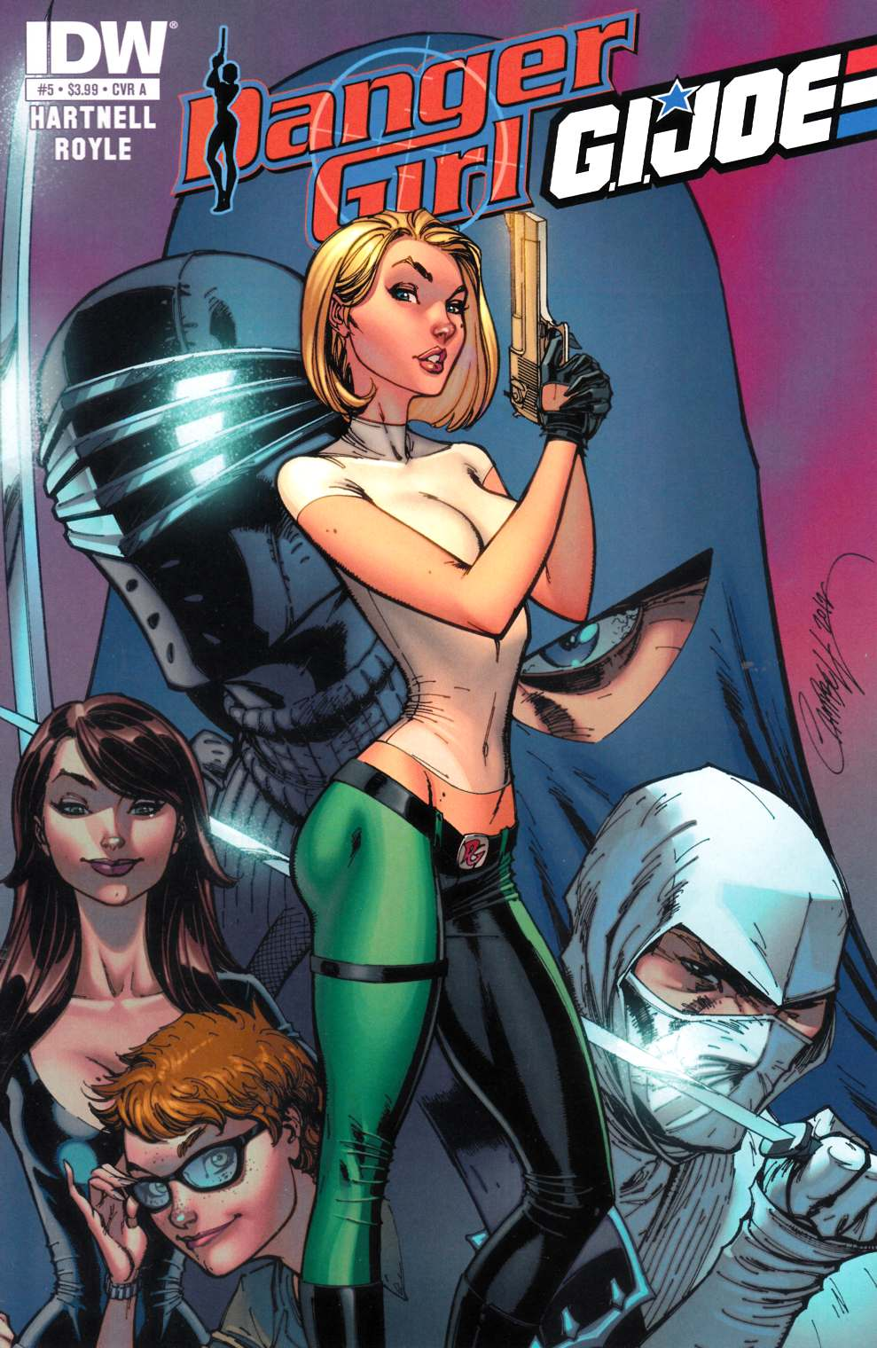 Danger Girl GI Joe #5 Cover A [Comic] THUMBNAIL