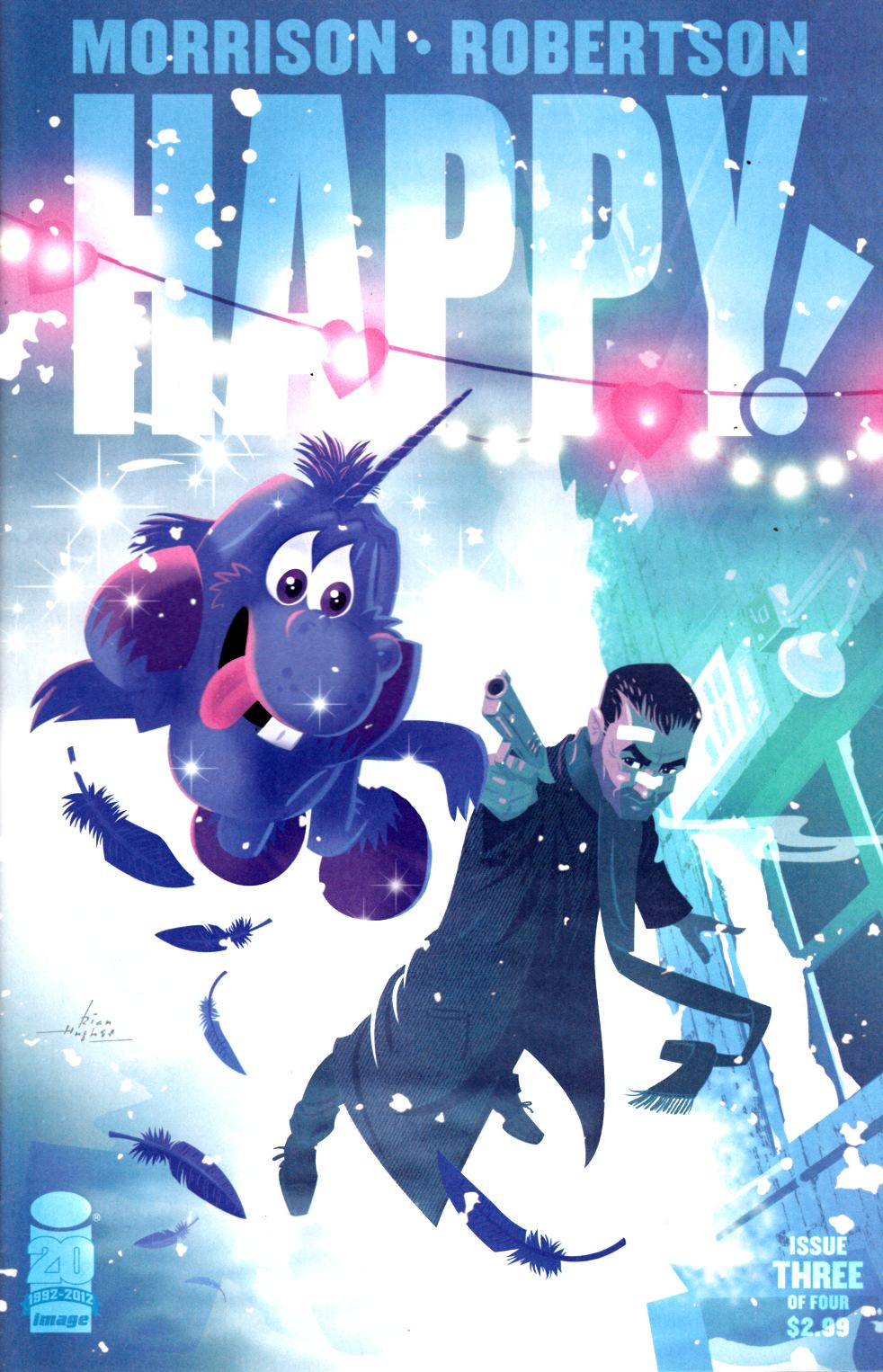 Happy #3 Hughes Cover Near Mint (9.4) [Image Comic] THUMBNAIL