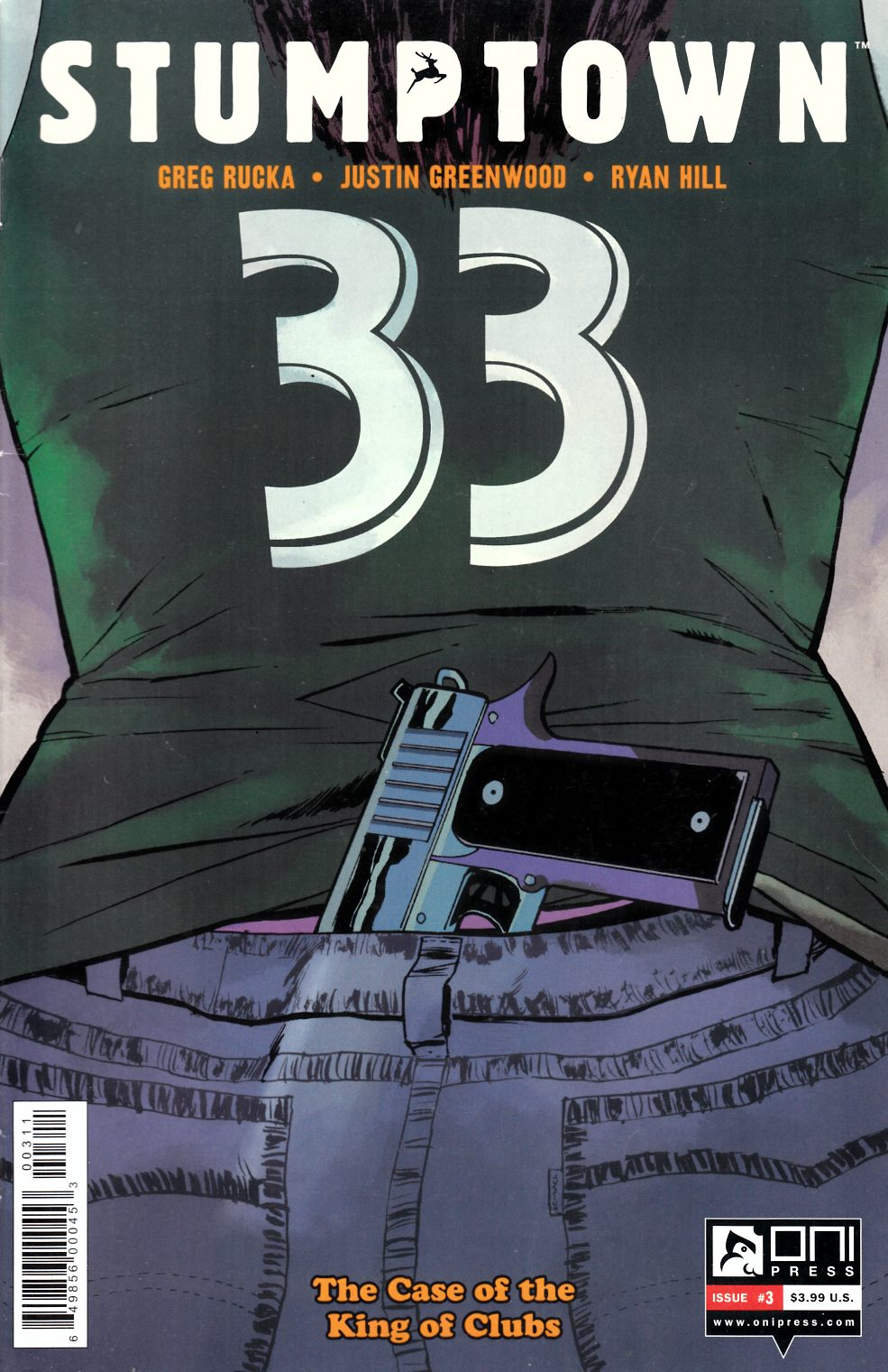 Stumptown Vol 3 #3 Fine (6.0) [Oni Press Comic] THUMBNAIL