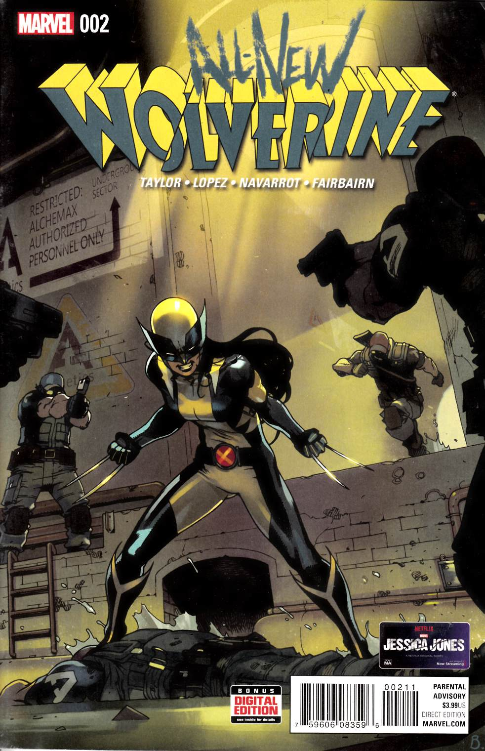 All New Wolverine #2 Fine Plus (6.5) [Marvel Comic]
