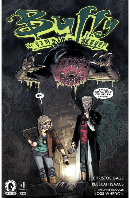 Buffy the Vampire Slayer Season 11 #1 Isaacs Variant [Dark Horse Comic] THUMBNAIL