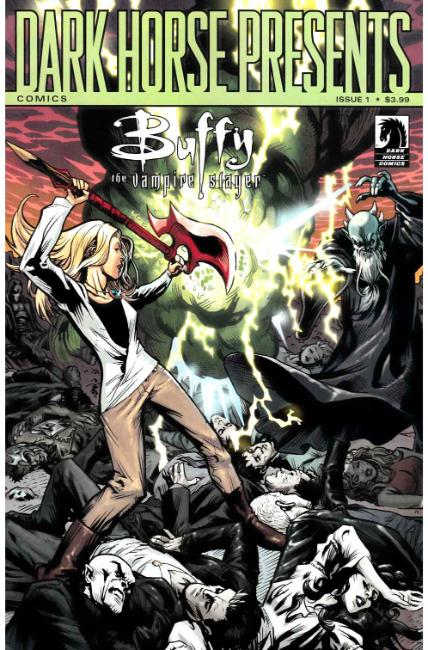 Buffy the Vampire Slayer Season 11 #1 Moline 30th Anniversary Variant Cover [Dark Horse Comic] THUMBNAIL