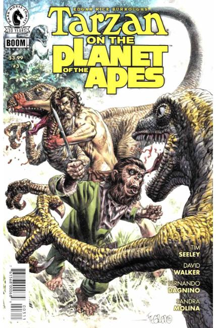 Tarzan on the Planet of the Apes #3 [Dark Horse Comic] THUMBNAIL
