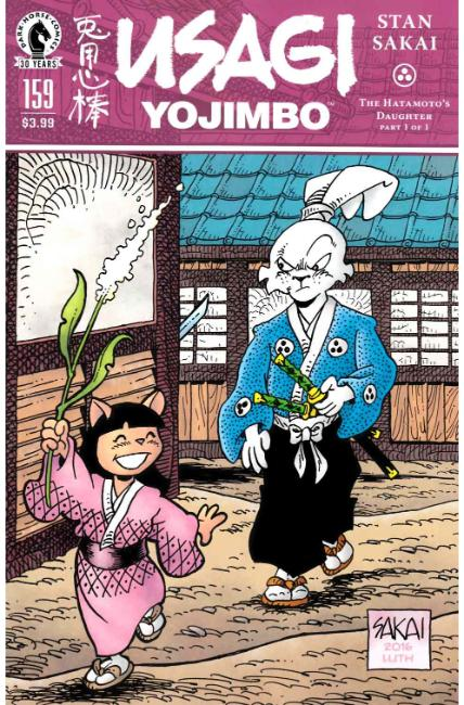 Usagi Yojimbo #159 [Dark Horse Comic] THUMBNAIL