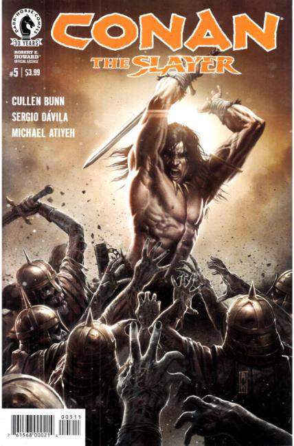 Conan the Slayer #5 [Dark Horse Comic] THUMBNAIL