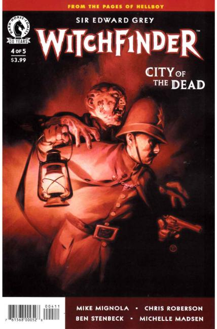 Witchfinder City of the Dead #4 [Dark Horse Comic]