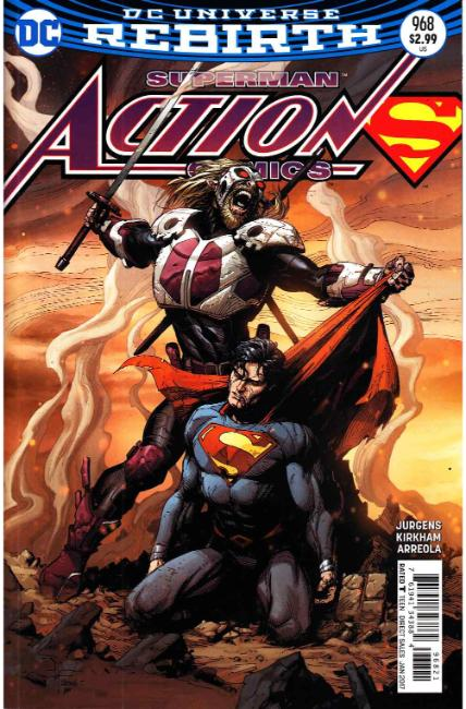 Action Comics #968 Frank Variant Cover [DC Comic] LARGE