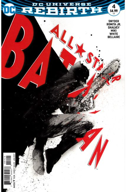 All Star Batman #4 Jock Variant Cover [DC Comic] LARGE