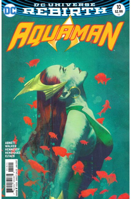 Aquaman #10 Middleton Variant Cover [DC Comic] THUMBNAIL