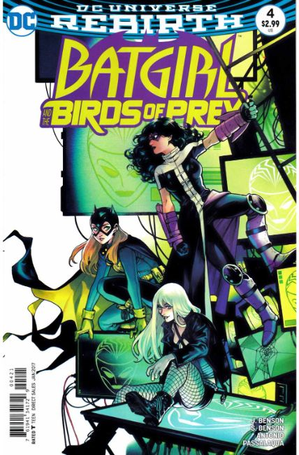 Batgirl and the Birds of Prey #4 Shirahama Variant Cover Near Mint (9.4) [DC Comic] LARGE
