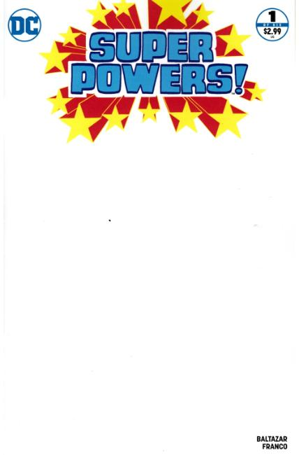 Super Powers #1 Blank Variant Cover [DC Comic]_THUMBNAIL
